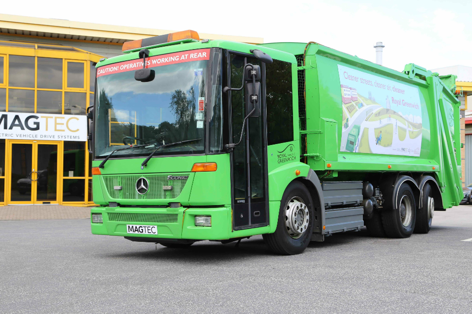 Repowering with electricity brings bin lorry back from the dead